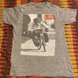 Life magazine monkey shirt
